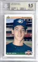 1992 Upper Deck SHAWN GREEN Toronto Blue Jays Rookie SP RC #55 Gem Mint BGS 9.5