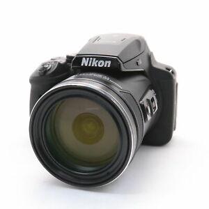 [Mint] Nikon COOLPIX P900 Black Digital Camera 16MP 83x Optical Zoom