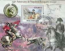 Timbre Napoléon Mozambique BF204 o année 2009 lot 23363 - cote : 17,50 €