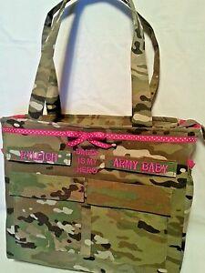 Camo Army diaper travel bag custom handmade personalized for you