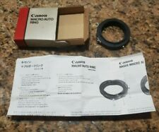 Canon Macro Auto Ring In original Box with Instructions