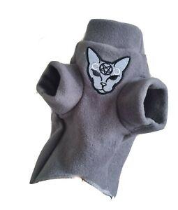 sizes EVIL CAT for a Sphynx cat, Sphynx cat clothes, Katzenbekleidung HOTSPHYNX