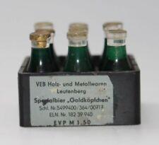 alter DDR Flaschenkasten Bierkasten VEB Leutenberg für Kaufladen  #A554