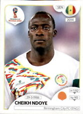 623 Cheikh Ndoye Senegal Panini 2018 Copa del Mundo Pegatina de Rusia