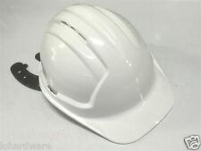 White Lightweight Safety Hard Hat - Work Wear Builders Helmet-AUSTRALIA Made