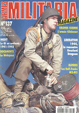MILITARIA N° 137 RENCONTRE OVERLORD DRAGOON / HALF-TRACKS / M2-M3 / WEHRPASS