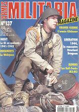MILITARIA N°137 RENCONTRE OVERLORD DRAGOON / HALF-TRACKS / M2-M3 / WEHRPASS