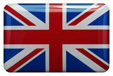 10x 3D Kfz-Aufkleber (gedomt) Flagge Großbritannien (Union Jack) (R30)