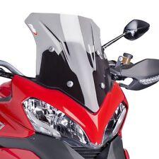 13-14 Ducati Multistrada 1200 Puig Racing Windscreen, Light Smoke  6490H
