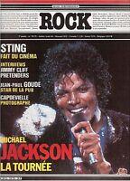 Magazine ROCK en stock n° 78/79 sting michael jackson pretenders eicher lamb