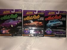 Johnny Lightning 1:64 Hot Rods,  Limited Edition,  Lot of 3 See photos