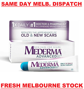 MEDERMA Advanced Scar Gel Cream Treatment 20g Skin Care Old & New Scars