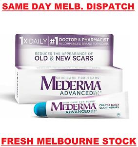 MEDERMA Advanced Scar Gel Cream Treatment 20g Skin Care Old & New Scars
