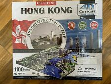 4D Cityscape Time Puzzle, History Over Time Puzzle: The City Of Hong Kong -1100+