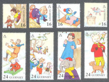 Rupert the Bear & Chums mnh set -Guernsey- 1992