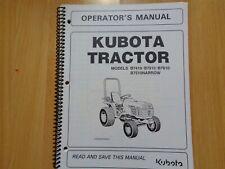 Kubota B7410 B7510 B7610 Tractor factory operators manual VG OEM **