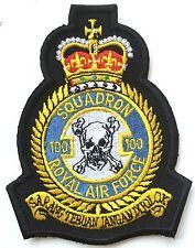 RAF N ° 100 Squadrone Royal Air Force Militare Patch Ricamato