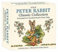 The Peter Rabbit Classic Collection by Beatrix Potter, Charles Santore (Board book, 2015)