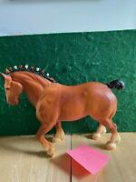 Breyer Traditional  Horse Clydesdale Stallion Bay Matte #80