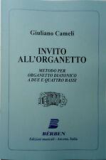 G. CAMELI - INVITO ALL'ORGANETTO - metodo BERBEN per organetto