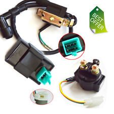 50cc 70 90 110cc Relay Solenoid Ignition Coil CDI Chinese ATV Quad Kazuma Taotao