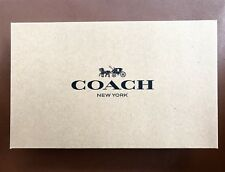 "Coach Gift Box 6"" X 10"" X 2.5"" Brown  🎁 Gift Box NEW"