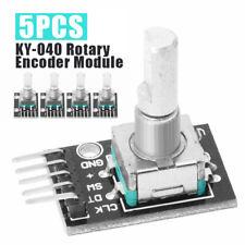 5Pcs KY-040 Rotary Encoder Module Brick Sensor Development Arduino TE173 BE CR