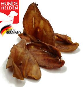 50 Schweineohren   Deutsche Herstellung w. Pansen Ziemer Ohren Schlund Hufe