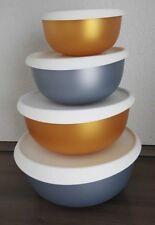 Tupperware Ergonomica Set 4,3L 2,5L 1,3L 550 ml *Neu* Gold/Silber Weihnachten