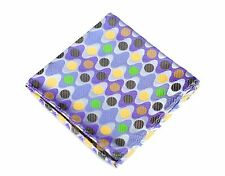 Lord R Colton Masterworks Pocket Square - Biscayne Purple Silk - $75 Retail New