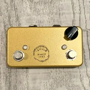 2021 Lovepedal Tchula Gold Overdrive OD & Church of Tone COT Boost Guitar Effect