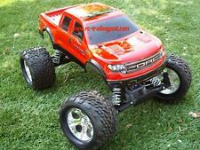 Custom Painted Body Ford Raptor SVT For 1/10 RC Monster Truck Traxxas Stampede