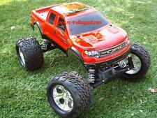 Ford Raptor SVT Crew Cab Custom Painted 1/10 RC Monster Truck Body For Stampede
