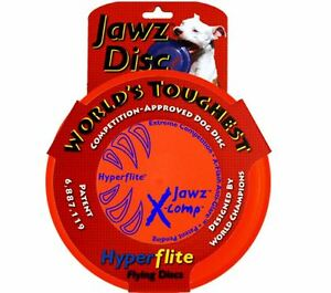 Hyperflite Jawz X-Comp Dog Disc Puncture Resistant US Made Dog Frisbee 2-Sizes