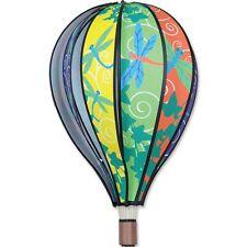 """Dragonflies Hot Air Balloon Shape Hanging Wind Spinner 22"""" Long. 23.Pr 25779"""