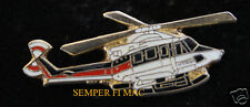 BELL 412 HELICOPTER HAT LAPEL PIN UP TIE TAC PILOT WING GIFT SOLO HELO WOW