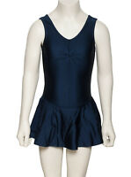 Ladies Lycra Ballet Dance Leotard With Skirt Dress All Colours KDR005 By Katz
