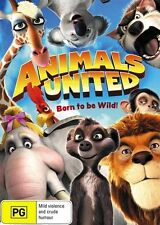 Animals United (DVD, 2014) Brand New & Sealed Region 4