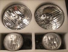2015 Jeep Wrangler Headlights And Fog Lights Includes Headlight Bulbs VGC!