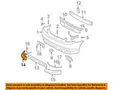TOYOTA OEM 03-04 Matrix-Spoiler / Wing Kit Right 7685102900