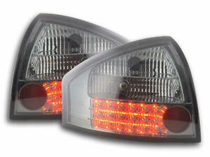 AUDI A6 4B SEDAN ALL SMOKED LED TAIL LIGHTS REAR LAMPS 1997-2003 SALOON