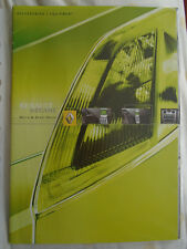 Renault Megane Hatch & Sport Hatch Accessories range brochure Oct 2002