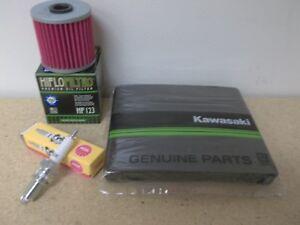 Tune up Kit NGK Spark Plug OE Air Oil Filter Kawasaki KL250 KLR250 KL KLR 250 D