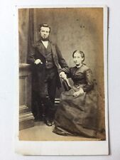 Victorian Carte De Visite CDV Photo: Couple: W Clark: Brighton