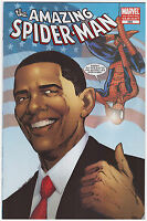 The Amazing Spider-Man #583 Barack Obama Variant 3rd Printing (Flag Cover)