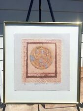 Asian Art Japanese Crest IV Debra A Olson Fine Art Original Signed Numbered 1/1