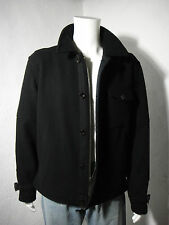 NWT Polo RALPH LAUREN Military/Flight Air Navy Deck Wool Jacket Black size XXL