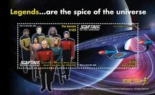 Gambia - Star Trek 50th Anniversary-  2016 S/S two stamps