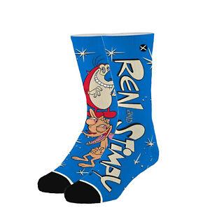 ODD SOX Men's Crew Socks - Ren & Stimpy Hilarious (UK 6-12 | EU 40-46)