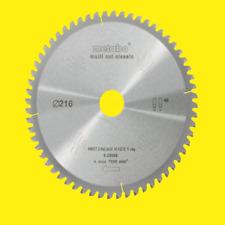METABO Multi Cut Kreissägeblatt KGS 216 HW/CT Sägeblatt 60 Zahn